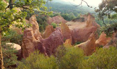 תשעה אתרי טבע בפרובנס ועוד אחד