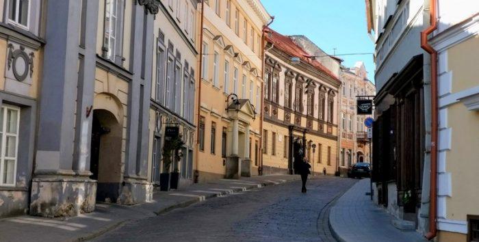 בעיר העתיקה של וילנה